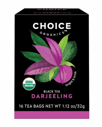 Choice Organic Darjeeling Black Tea Bags Perspective: front