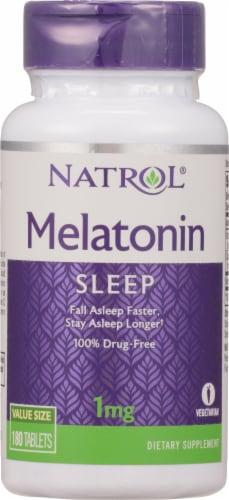 Natrol Melatonin Sleep Supplement Tablets 1mg Perspective: front