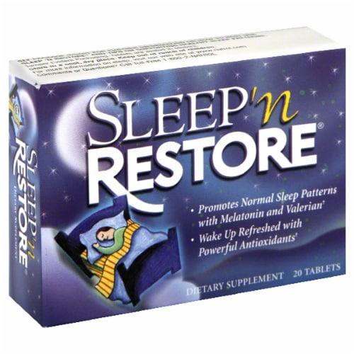 Natrol Sleep 'N Restore Tablets Perspective: front