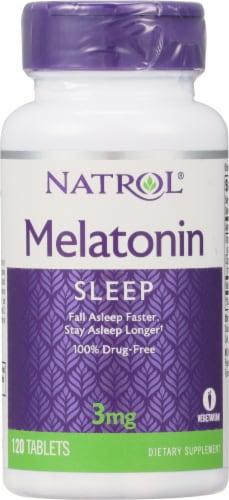 Natrol Melatonin Sleep Tablets 3mg Perspective: front