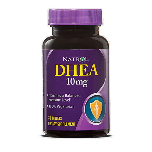 Natrol DHEA 10mg Perspective: front