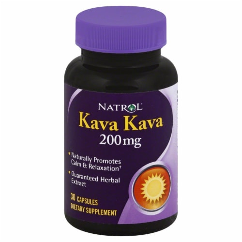 Natrol Kava Kava Capsules 200mg Perspective: front