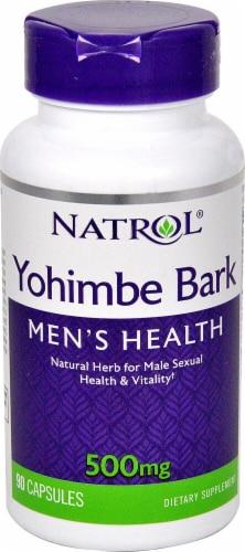Natrol  Yohimbe Bark Perspective: front