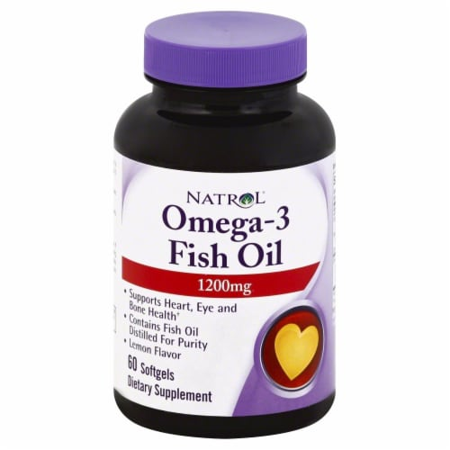 Natrol Omega 3 Fish Oil 1200 mg Perspective: front