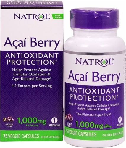 Natrol  Acai Berry Perspective: front