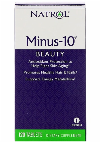 Natrol  Minus-10® Beauty Perspective: front