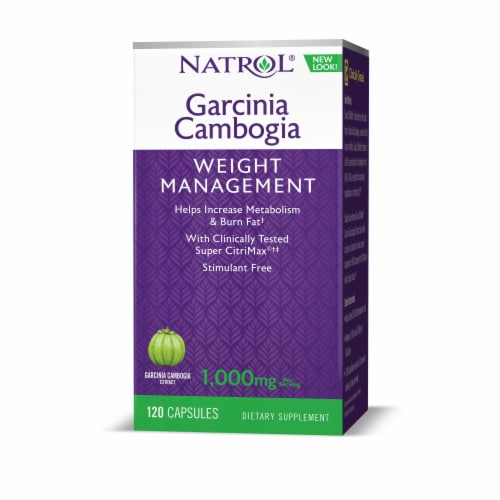 Natrol Garcinia Cambogia Extract Perspective: front