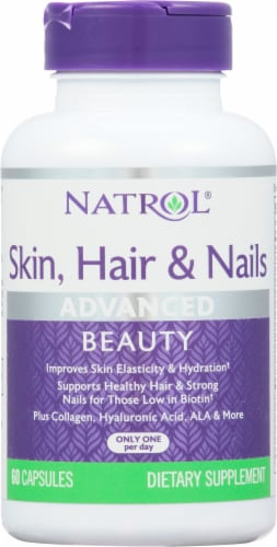 Natrol  Skin Hair & Nails Advanced Perspective: front