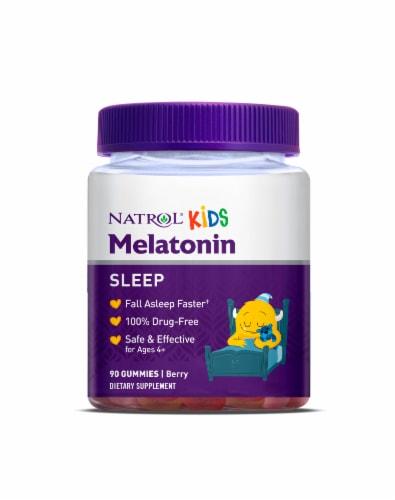 Natrol Kids Melatonin Berry Gummies Perspective: front