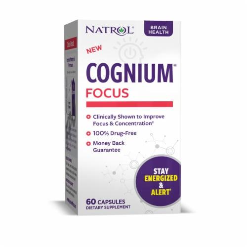 Natrol Cognium Focus Capsules Perspective: front