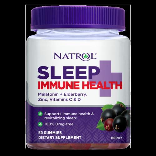 Natrol Sleep + Immune Health Berry Gummies Perspective: front