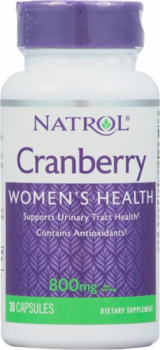 Natrol  Cranberry Perspective: front