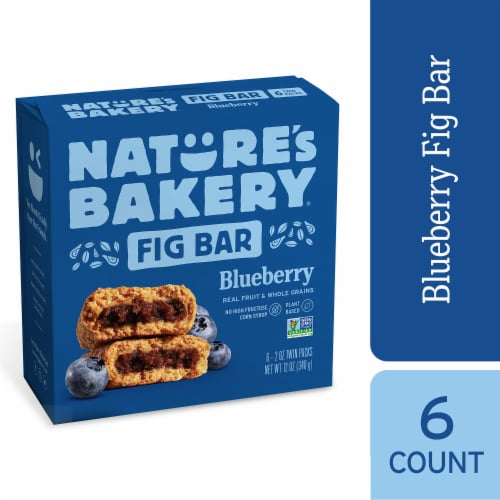 Nature's Bakery Blueberry Fig Bars Perspective: front