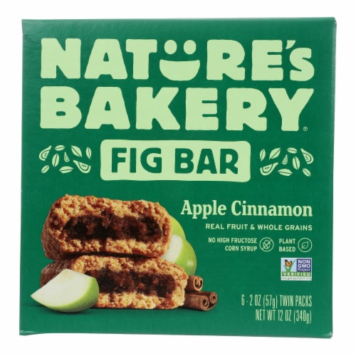 Natures Bakery Apple Cinnamon Fig Bar, 2 Ounce -- 36 per case. Perspective: front