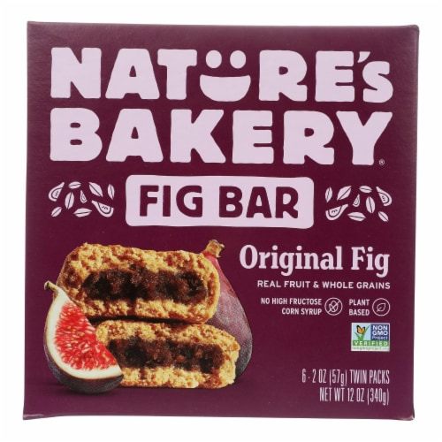 Nature's Bakery Stone Ground Whole Wheat Fig Bar - Original - Case of 6 - 2 oz. Perspective: front