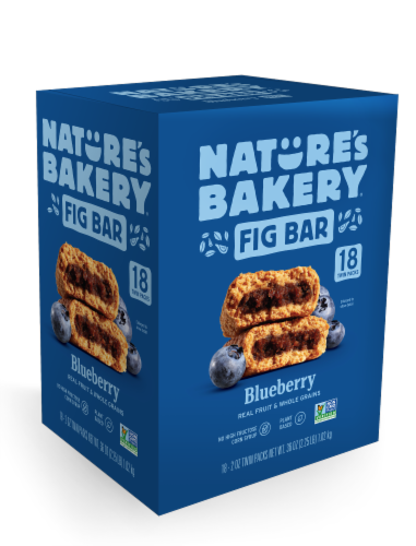 Nature's Bakery Blueberry Fig Bar Perspective: front