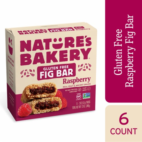 Nature's Bakery Raspberry Fig Bars Perspective: front