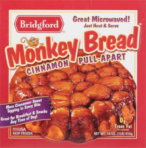 Bridgford Cinnamon Pull-Apart Monkey Bread Perspective: front