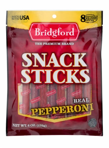 Bridgford Pepperoni Sticks Perspective: front