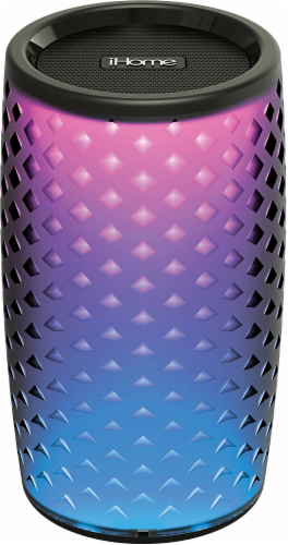 iHome Color Changing Bluetooth Speaker - Black Perspective: front