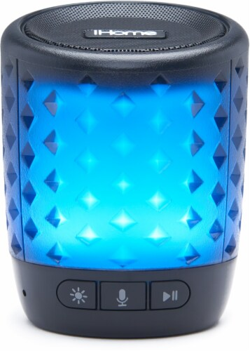 iHome iBT81 Bluetooth Speaker Perspective: front