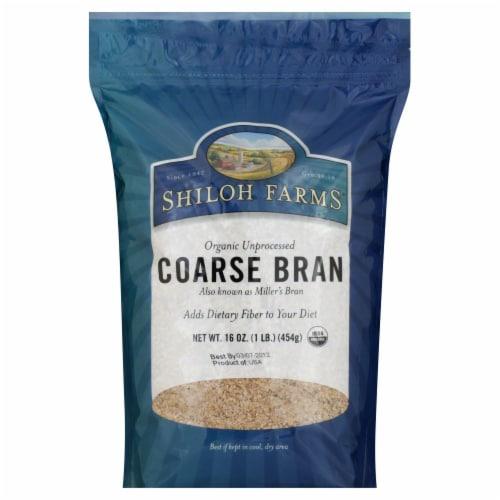 Shiloh Farms Organic Unprocessed Wheat Bran Perspective: front
