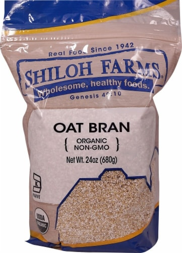 Shiloh Farms Organic Oat Bran Perspective: front