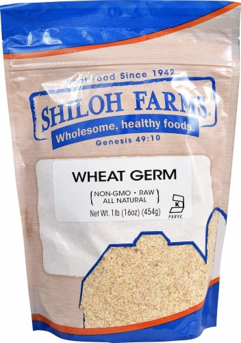 Shiloh Farms  Raw Wheat Germ Perspective: front