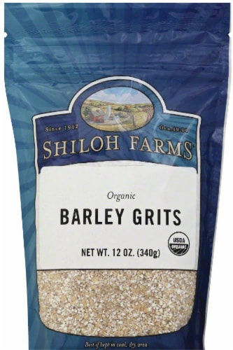 Shiloh Farms Organic Barley Grits Perspective: front
