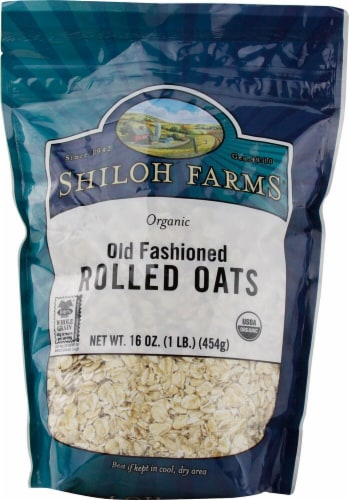 Shiloh Farms  Organic Old Fashioned Rolled Oats Perspective: front