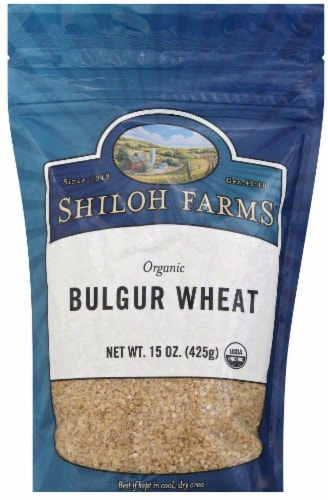 Shiloh Farms Organic Bulgur Wheat Perspective: front