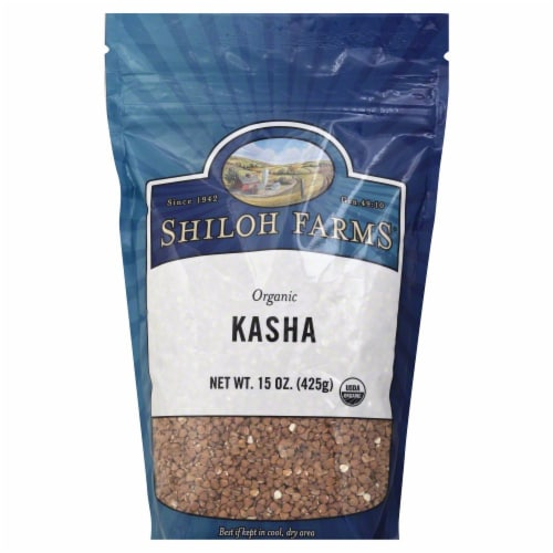 Shiloh Farms Organic Kasha Perspective: front