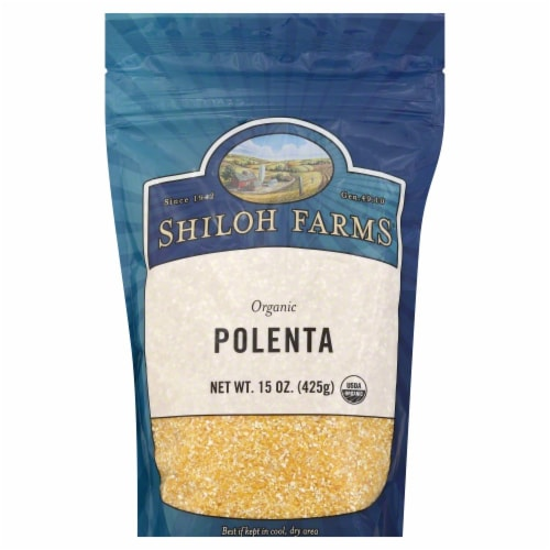 Shiloh Farms Organic Polenta Perspective: front