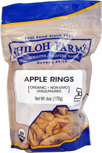 Shiloh Farms Organic Apple Rings Perspective: front