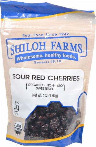Shiloh Farms Organic Sour Red Cherry Perspective: front