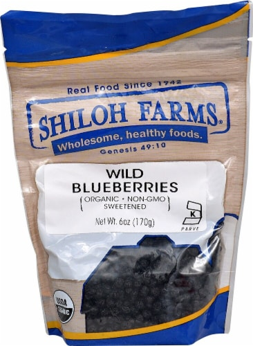 Shiloh Farms Organic Wild Blueberry Perspective: front