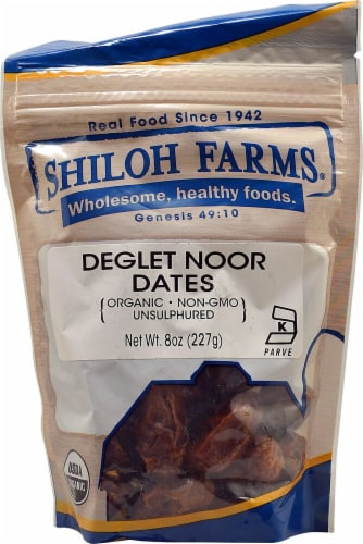 Shiloh Farms Organic Deglet Noor Dates Perspective: front