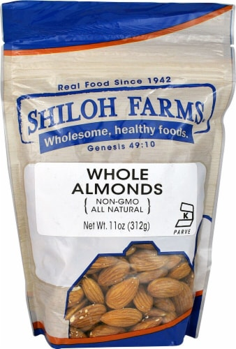 Shiloh Farms Whole Almonds Perspective: front