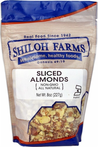 Shiloh Farms Sliced Almonds Perspective: front