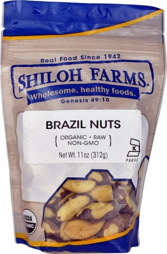 Shiloh Farms Organic Brazil Nuts Perspective: front