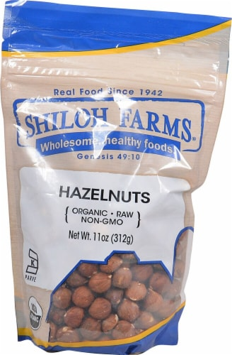 Shiloh Farms Organic Hazelnuts Perspective: front