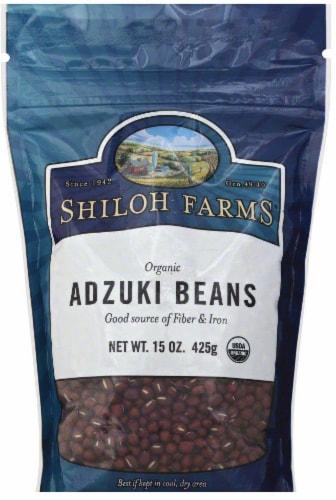 Shiloh Farms Organic Adzuki Beans Perspective: front
