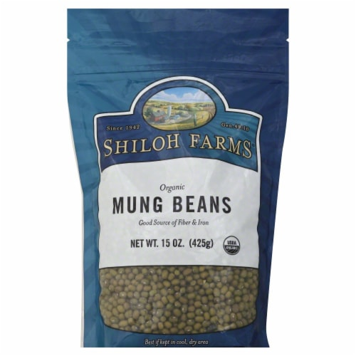Shiloh Farms Organic Mung Beans Perspective: front