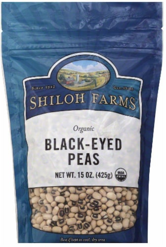 Shiloh Farms Organic Black Eyed Peas Perspective: front
