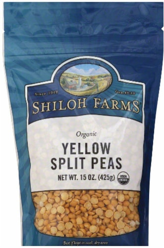 Shiloh Farms Yellow Split Peas Perspective: front