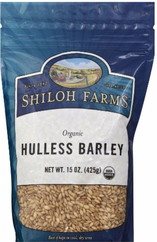 Shiloh Farms Organic Hulless Barley Perspective: front
