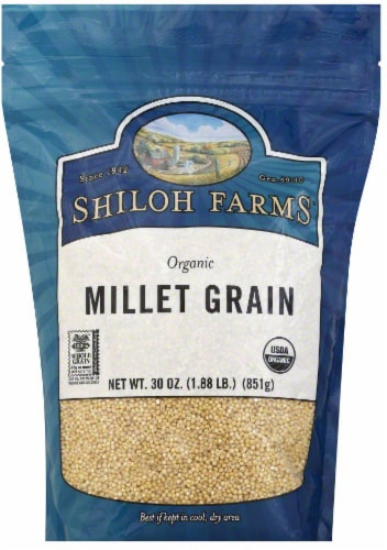 Shiloh Farms Organic Millet Grain Perspective: front