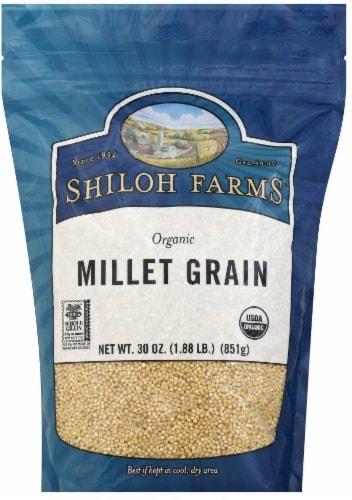 Shiloh Farms Organic Millet Grain Perspective: front