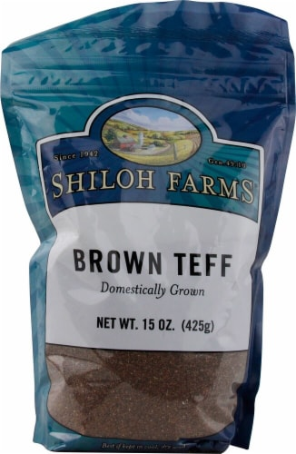Shiloh Farms  Brown Teff Perspective: front
