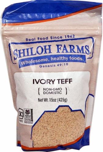 Shiloh Farms Whole Grain Teff Flour Perspective: front